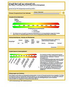 Energieausweis DIN A4